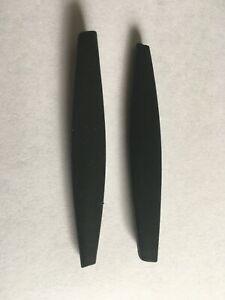 Replacement Black Ear Socks for-Oakley M Frame Heater / Hybrid / Strike / Sweep