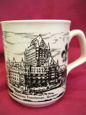 Chateau Frontenac Quebec Collectible Coffee Mug Cup Ceramic England