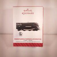 Hallmark Keepsake Ornament Penn Torpedo Locomotive Lionel Trains Series 2014