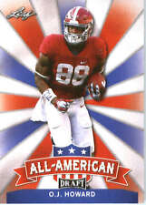 2017 Leaf Draft Football All-American #AA-17 O.J. Howard
