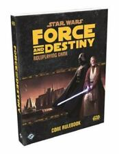 Star Wars: Force and Destiny Core Rulebook, Fantasy Flight Games;, Good,  Book