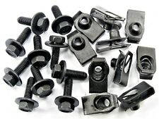 For Nissan Body Bolts & U-nut Clips- M6-1.0 x 20mm- 10mm Hex- 20 pcs (10ea) #150