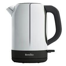 Breville Outline Jug Tea Kettle Polished Stainless Steel 1.7 Litre VKJ982 Silver