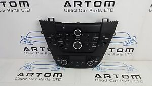 Vauxhall Insignia CD PLAYER FACIA CD 300 Front Climate Heater Control Panel A/C