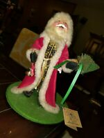 Annalee Dolls St Nicholas Christmas #5410 - Has Tag but no Plaque Some Wear