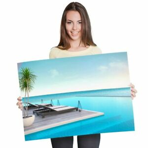 A1 - Luxury Tropical Holiday Cool Poster 60X90cm180gsm Print #2513