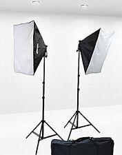 1600 Watt Softbox Lighting Kit Video Lighting Kit Two Softbox, 8 x 45watt Flo...