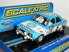 Scalextric - C3029 Ford Escort RS1600 Milk 1973 RAC Rally - New/Missing Lense