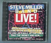 Steve Miller Band cd LIVE 1983 West Germany Mercury 811 020-2 near mint 11-track