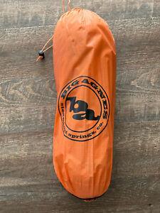 Big Agnes Copper Spur HV UL 1 Ultralight Backpacking/Bikepacking Tent EUC