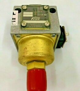 HONEYWELL FEMA DCM-1  DCM1 Pressure Switch 0.2 TO 1.6 bar G1/2 P. Max 6 bar