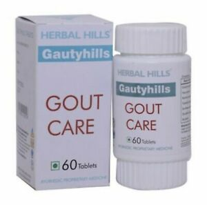 maintain healthy uric acid levels Gout Care joints health Gautyhills –60 Tablet;