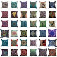 Indian Bohemian Mandala Boho Throw Pillow Cover Case Cushion Room Home Decor US
