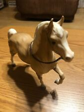 Breyer Horse Palomino Prancing With Attached Bit And Bridle