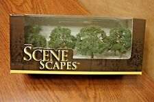 "BACHMANN SCENE SCAPES N SCALE OAK TREES  2.25"" - 2.5""  (4) TREES/BOX"