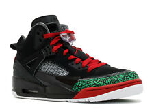 New Men's Nike Jordan Spizike Basketball Shoes Size 10.5 Black/Varsity Red $175