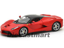 FERRARI LAFERRARI F70 RED 1:24 DIECAST MODEL CAR BY BBURAGO 26001