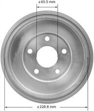 Brake Drum-LS Rear Bendix PDR0838