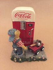 RARE Boyds Bearstone Coca Cola Billy The Pause That Refreshes 2005 919907