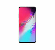 Samsung Galaxy S10 5G 256GB Crown Silver 6.7in display Unlocked G977P Smartphone