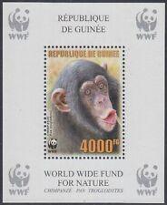 Guinea Mi.Nr. Block 927A Naturschutz, Schimpanse, postfrisch