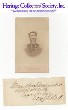 CIVIL WAR CONFEDERATE GENERAL J. Bankhead Magruder, autograph