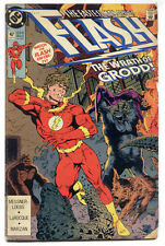 Rare DC Comics THE FLASH #47 1990 English 21