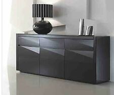 Brand New DIAMOND High Gloss  Polyurethane Buffet Sideboard  Dining Furniture