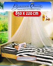 Fly Screen Mosquito Bed Net for Single Bed White