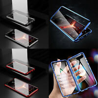 Magnetic Tempered Glass Case Cover Frame Metal For ASUS ROG Phone II 2 ZS660KL