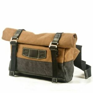 Waterproof Men Sports Casual Fly Bag Canvas Chest Bags Male Messenger Backpacks