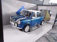 AUSTIN BL MINI Cooper S 1.3 i Injection blau blue Sport Pack NEU SP Solido 1:18