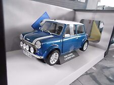 Austin BL MINI COOPER S 1.3 i Injection BLU BLUE SPORT PACK NUOVO SP solido 1:18