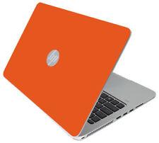 ORANGE Vinyl Lid Skin Cover Decal fits HP Elitebook 840 G3 Laptop