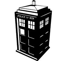 Decal Vinyl Truck Car Sticker - Doctor Who Tardis