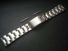 With Straight Ends For Rolex Men Watch A 20Mm Brushed Steel Oyster Band Bracelet