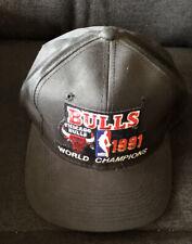 Chicago Bulls 1991 NBA World Champions Locker Room Cap Excellent  Original NWOT!