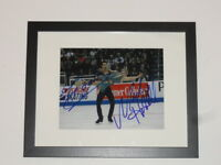 ZACHARY DONOHUE MADISON HUBBELL SIGNED FRAMED MATTED 8X10 PHOTO OLYMPICS PROOF A