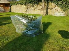 15 Pack Rubble / Garden Waste Heavy Duty Clear Poly Sacks 135Ltr. Can be reused.