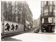 EDGAR DEROUET LESACQ Aff Hippisme LOTERIE NATIONALE Voiture Paris Photo 1938 #2