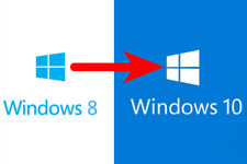 Code für Update Upgrade Windows 8/8.1 Home/Pro zu in auf Win 10 Professional Key