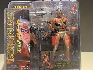 """Iron Maiden Somewhere in Time 7"""" Eddie Action Figure 2005 NIB NECA"""