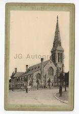 Dresden, Germany - Original 19th Century Cabinet Card Photo - St. John's Church