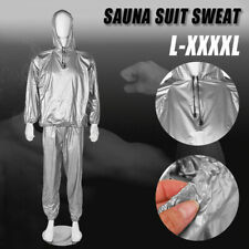 Unisex Women Sweat Sauna Gym Suit Fitness Loss Weight Exercise Training