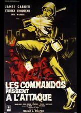 affiche du film COMMANDOS PASSENT A L'ATTAQUE (LES) 80x120 cm