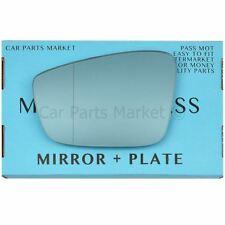 For Skoda Citigo wing mirror glass 12-17 Left Passenger side Spherical