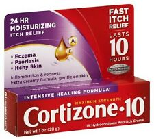 Cortizone-10 Intensive Healing Formula Anti-Itch Creme 1 oz (Pack of 2)