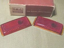 NOS 1941-1948 Ford Tail light Lens set, w/original box!