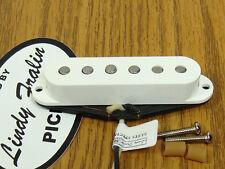 NEW Lindy Fralin Strat Blues Special Neck PICKUP White for Fender Stratocaster