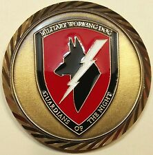 K-9 Handler Department of Defense Military Working Dogs Challenge Coin